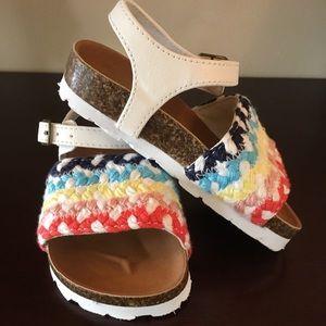 Baby Gap Toddler Sandals NWOT